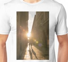 Famous fashion shopping street Unisex T-Shirt