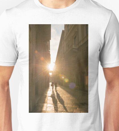 Famous fashion shopping street Unisex T-Shirt