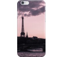 The Eiffel Tower from Pont Alexandre III (vertical) iPhone Case/Skin