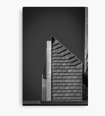 Newhall Monochrome Canvas Print