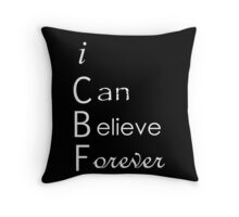 iCbf  Throw Pillow