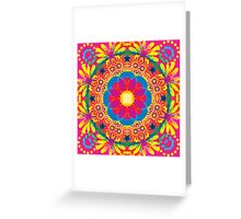Smiling Colours Greeting Card