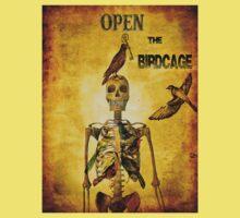 Open the birdcage Kids Tee