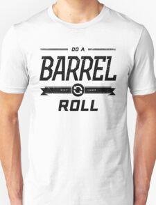 Star Fox 64 - Do A Barrel Roll Official Tee (Black) T-Shirt