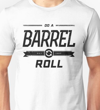 Star Fox 64 - Do A Barrel Roll Official Tee (Black) Unisex T-Shirt