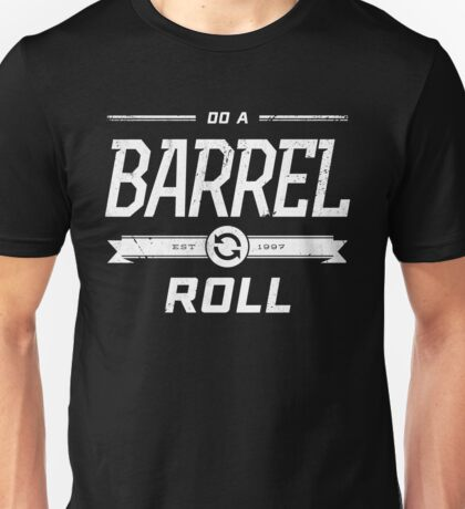 Star Fox 64 - Do A Barrel Roll Official Tee (White) Unisex T-Shirt
