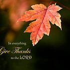 GiveThanks For the Simple Things by Kathy Weaver