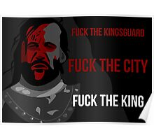 Sandor 'The Hound' Clegane - Game of Thrones Poster