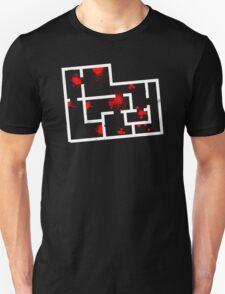 """Hotline Miami Level 01 """"No Talk"""" (White) T-Shirt"""