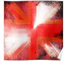 God save the Union Jack Poster