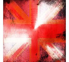 God save the Union Jack Photographic Print