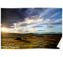 High Country Dusk Poster