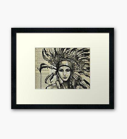 Wiwasteka Framed Print