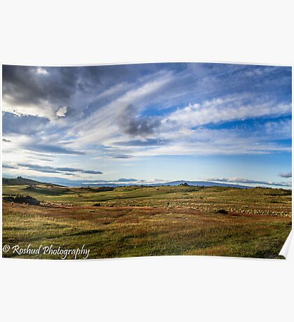 High Country Plains Poster