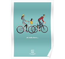 City Ride - Hello there Poster