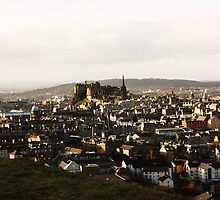 Views over Edinburgh  by incipient