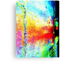 Unique Abstract Digital Art Canvas Print