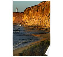 Aireys Inlet Lighthouse Portrait Poster
