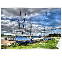 Alnmouth Yachts Poster