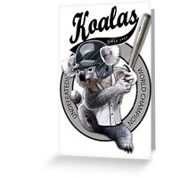 KOALA RANGERS Greeting Card