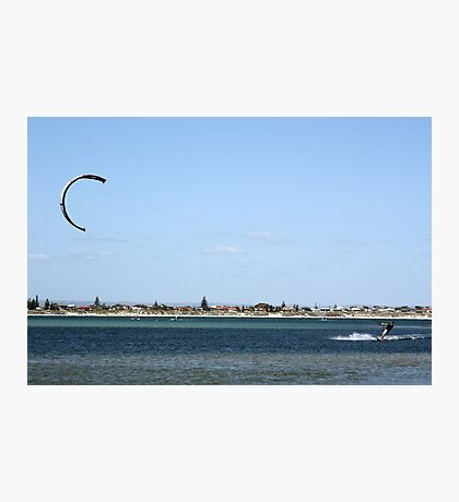 Kite board summer. Photographic Print