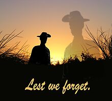 Lest we forget, rememberance day. by Craig Wilson