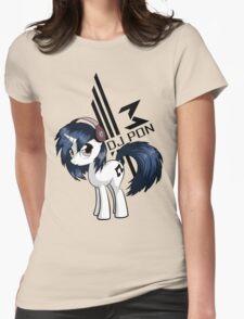 Vinyl Scratch Womens Fitted T-Shirt