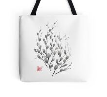 Gentle promise sumi-e painting Tote Bag