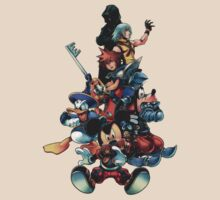 Kingdom Hearts by cescocir