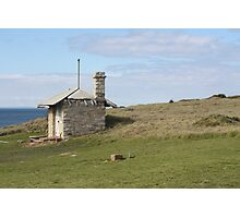 Lighthouse hut. Photographic Print