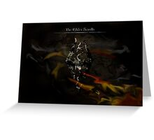 The Elder Scrolls Greeting Card
