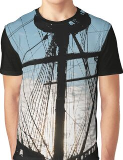 Old ship Graphic T-Shirt