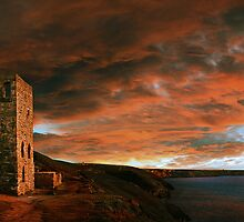 Towanroath Sunset by Nigel Hatton, Derwent Digital Imaging