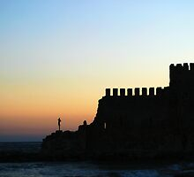 Mamure Castle in Anamur by Jens Helmstedt