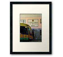 Oboe player  Framed Print