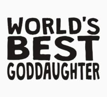 World's Best Goddaughter One Piece - Long Sleeve