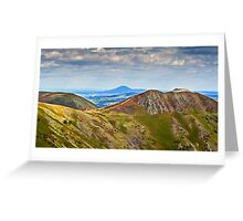 Long Mynd Greeting Card