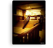 Baker Street tube =London Canvas Print
