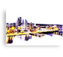 Pittsburgh at Dusk Canvas Print