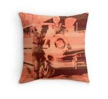 Lost slice of Americana Throw Pillow