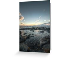Be Water, my Friend || Troon, Scotland Greeting Card