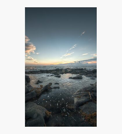 Be Water, my Friend || Troon, Scotland Photographic Print