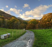 The Coppermines Footpath by Jamie  Green