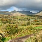 Coniston Fells Panorama by Jamie  Green