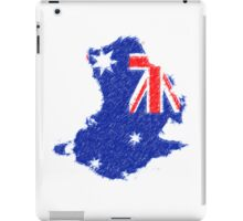 Australian flag for ipad - painting iPad Case/Skin