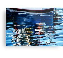 Slippery Dick Reflections 2 ~ Lyme Regis Metal Print