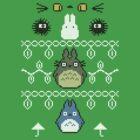 Totoro Christmas 1 by dbizal