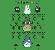Totoro Christmas 2 by dbizal