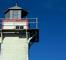 New London Rear Range (Lighthouse) III by Kathleen Daley