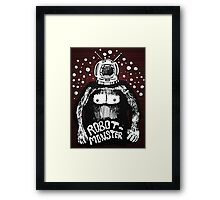 Robot Monster Framed Print